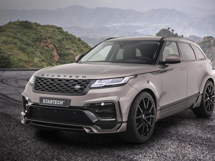 В Startech произвели тюнинг Range Rover Velar