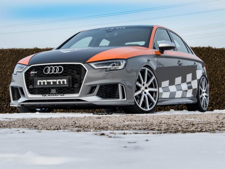Тюнинг Audi RS3 Sedan от MTM
