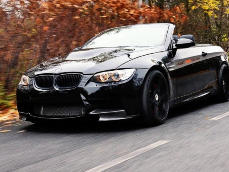 Кабриолет BMW M3 (E92) с двигателем от X6 M