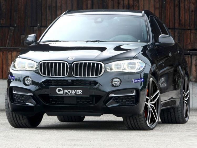 G-Power «усилил» BMW X6 M50d