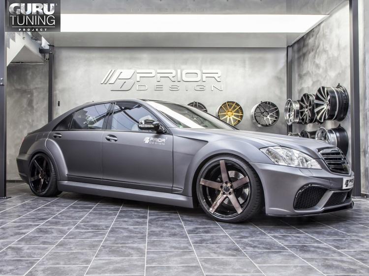 PRIOR-DESIGN для Mercedes S-class (W221) Black Edition V3