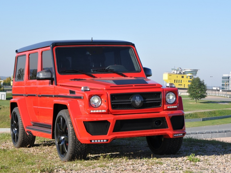 GSC G63 AMG WIDE BODY для Mercedes G-class (w463)
