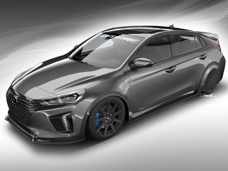 Концепт HyperEconiq на базе Hyundai Ioniq