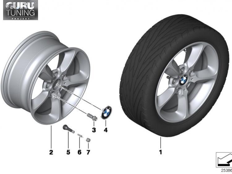 Диски BMW  дизайн 382 для BMW 2-series (F22)