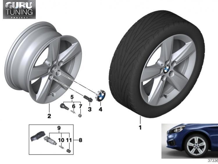 Диски BMW дизайн 478 для BMW 2-series Active Tourer F45