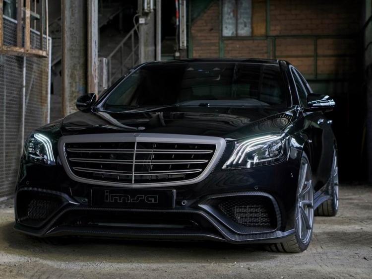 Проект Mercedes-AMG S63 с 720 л.с. от IMSA