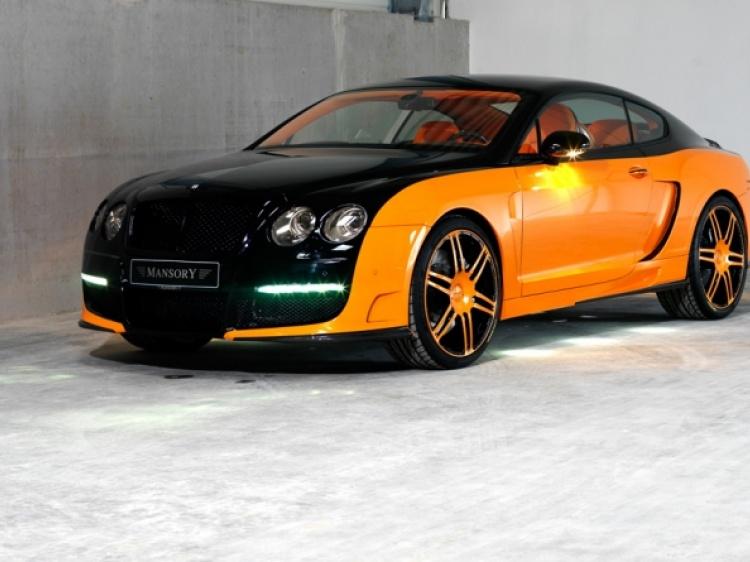 Выхлопная система от LE MANSORY для Continental GT