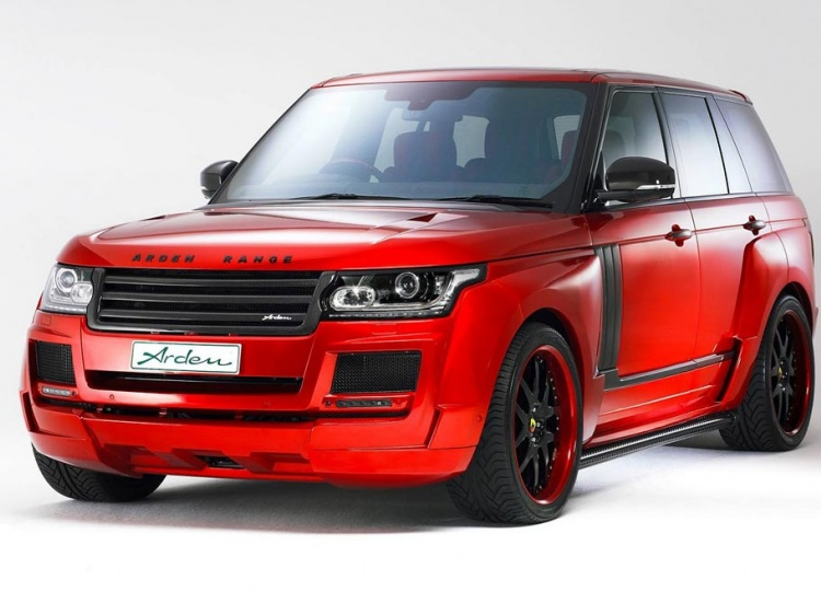 AR9 Spirit Special Edition или тюнинг Range Rover 4