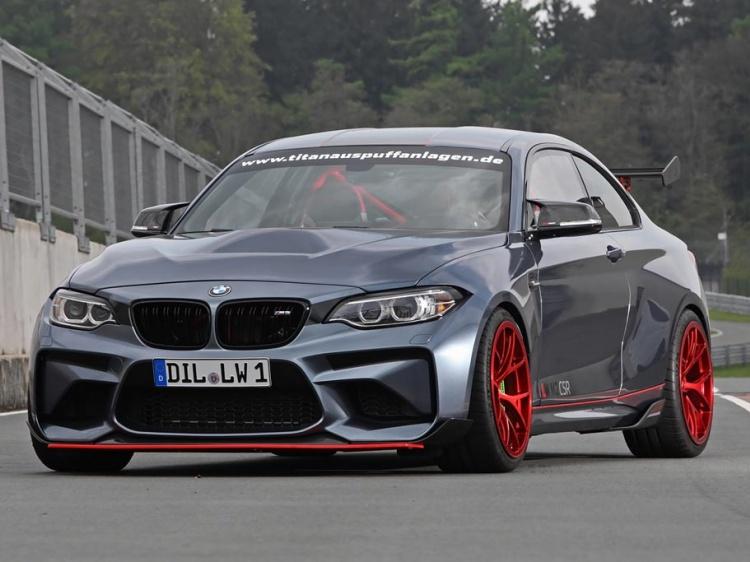 BMW M2 CSR получил двигатель от M4