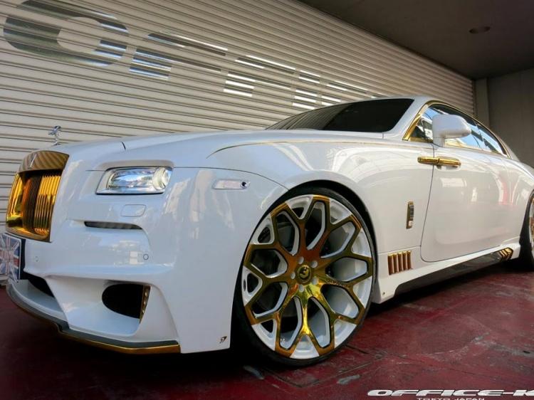 Ателье Office-K тюнинговали Rolls-Royce Wraith
