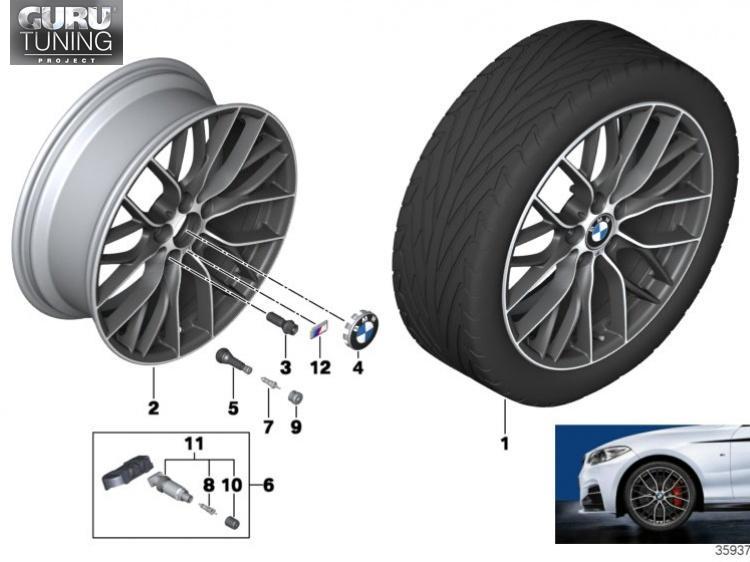 Диски BMW дизайн 405 для BMW 2-series F23