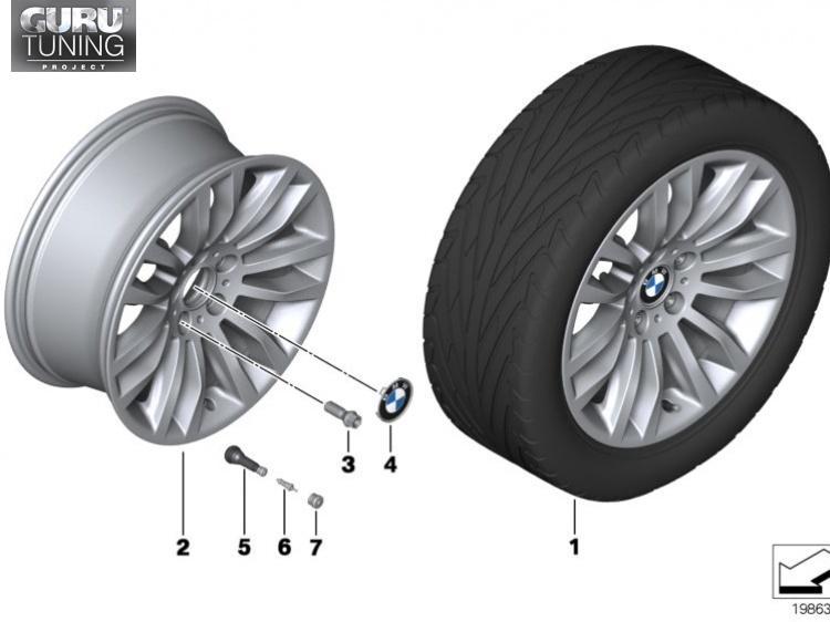 Диски BMW дизайн 322 для BMW X1 E84