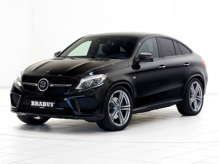 Программа тюнинга Brabus 410 для Mercedes-AMG GLE 43 Coupe