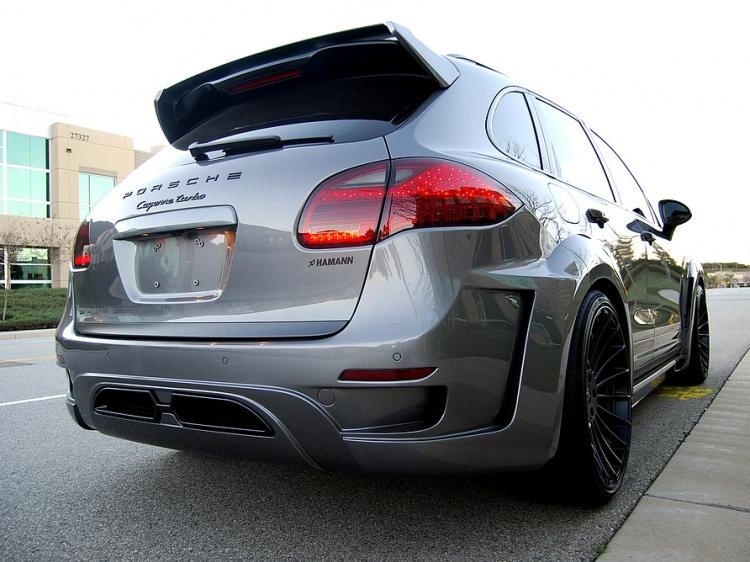 Обвес HAMANN для Porsche Cayenne GUARDIAN EVO II (реплика)