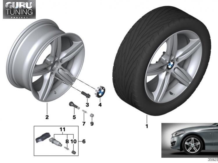 Диски BMW дизайн 379 для BMW 2-series F23