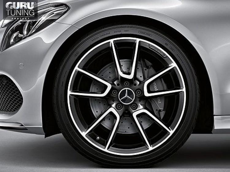 Диски AMG для Mercedes C class W205 Coupe с 5 двойными спицами
