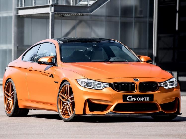 Заряженный BMW M4 с приростом мощности от G-Power