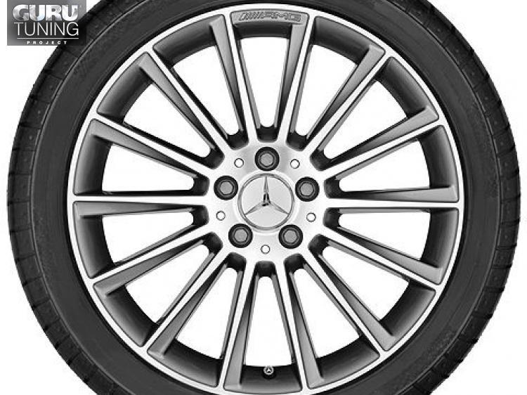 Диски AMG для Mercedes C class W205 Coupe многоспицевые