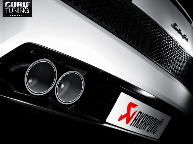 Выхлопная система Akrapovic для Lamborghini GALLARDO LP 550-2 COUPE