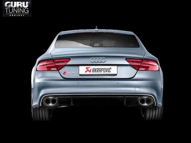Выхлопная система Akrapovic для Audi RS 7 Sportback (C7) 2016