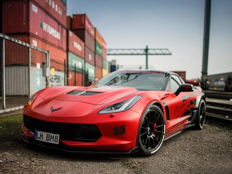 В BBM Motorsport изменили и усилили Corvette Z06