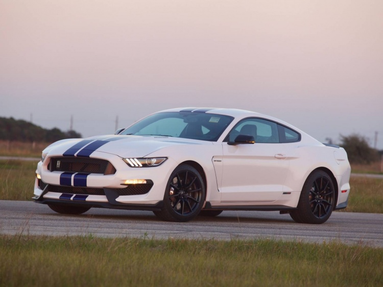 Тюнинг Ford Shelby Mustang GT350 от Hennessey