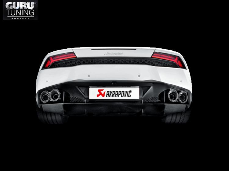 Выхлопная система Akrapovic для Lamborghini Huracan LP 610-4 Coupe/Spyder 2016