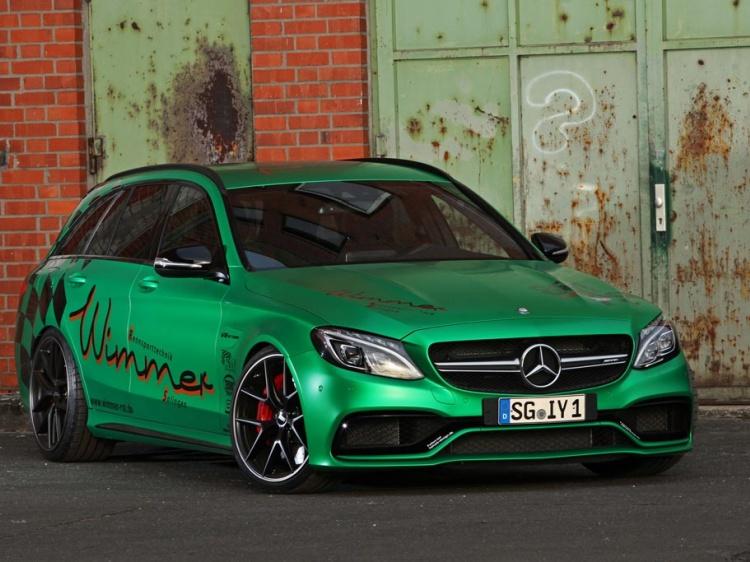 Mercedes-AMG C63 S с 801 л.с. от Wimmer