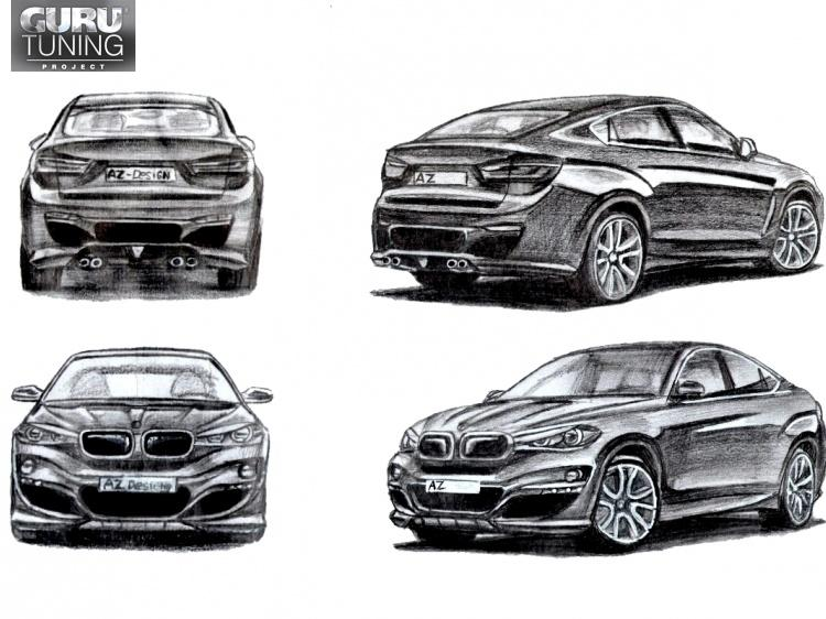 Индивидуальный дизайн для BMW X6 F16