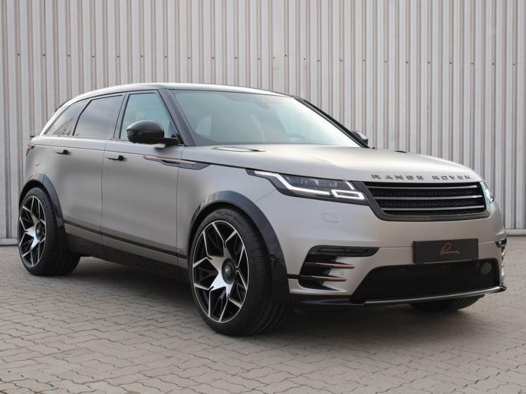 Новый тюнинг Range Rover Velar от ателье Lumma