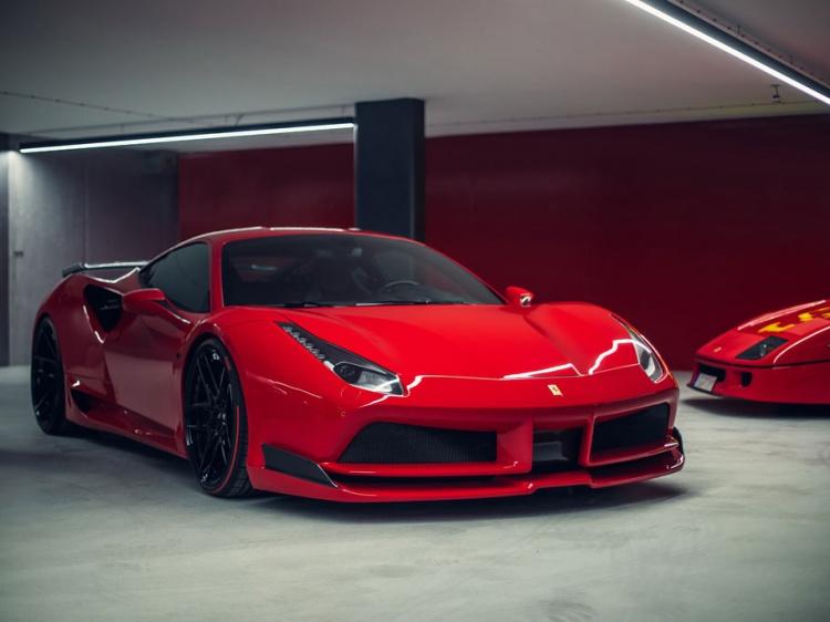 Суперкар Ferrari 488 получил тюнинг от Novitec