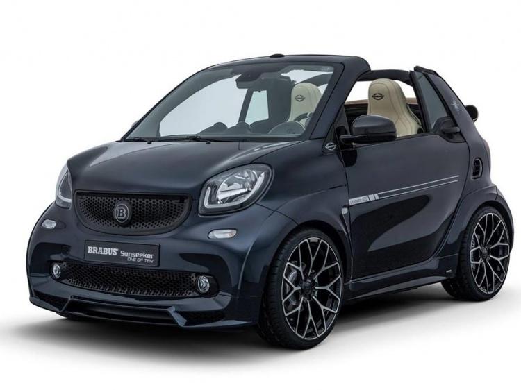 Тюнинг Smart Fortwo Cabrio от Sunseeker и Brabus