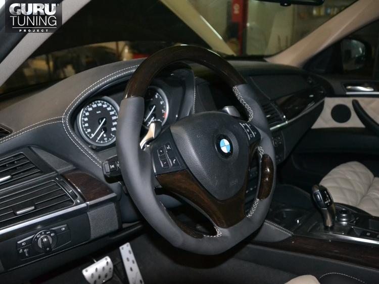 Тюнинг салона BMW X5 (E70)