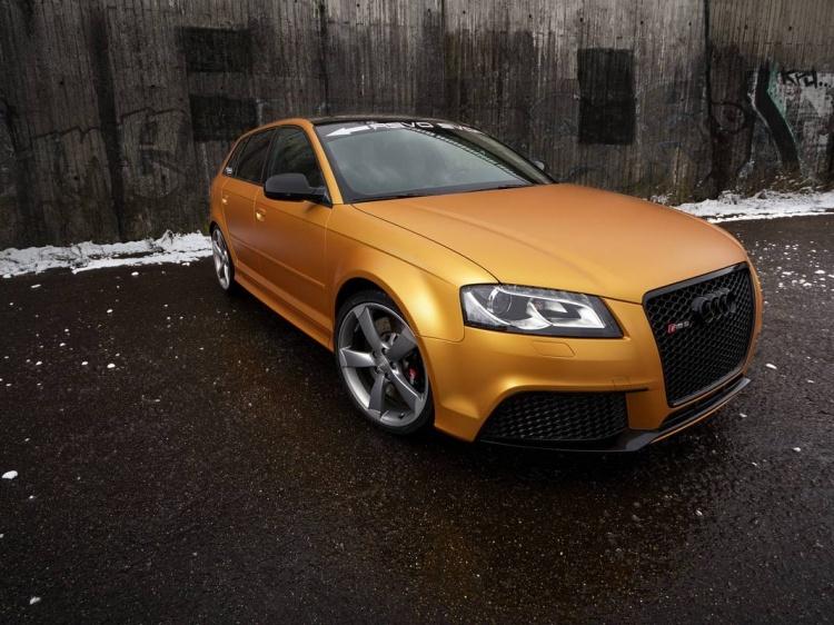 Проект по модернизации Audi RS3 Sportback от компании SchwabenFolia