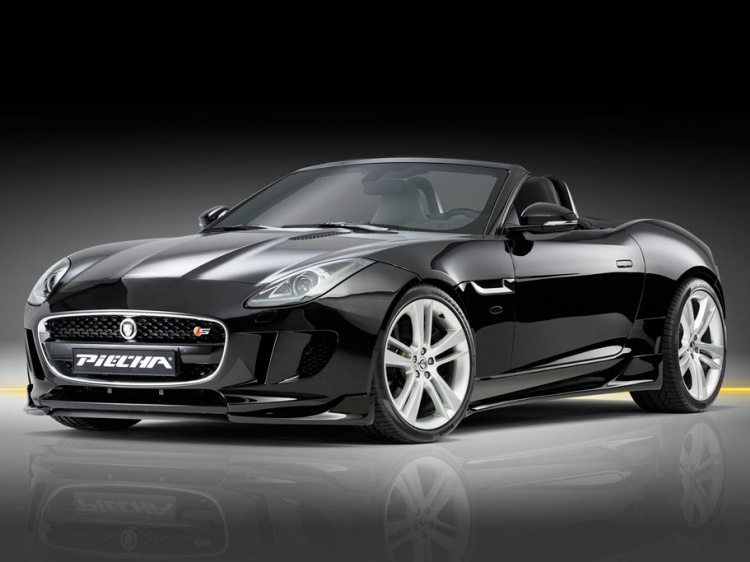 Piecha Design с тюнингом Jaguar F-Type