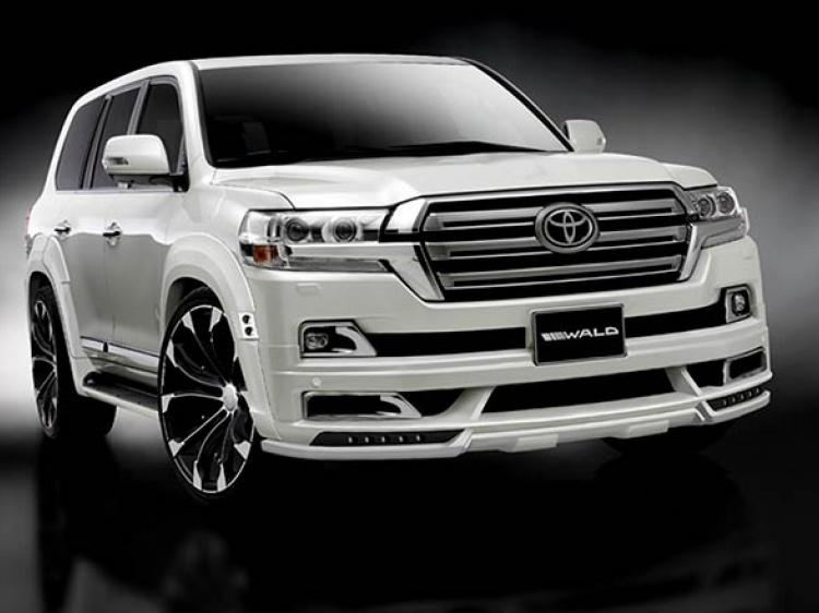 Новый обвес Wald International для Toyota Land Cruiser