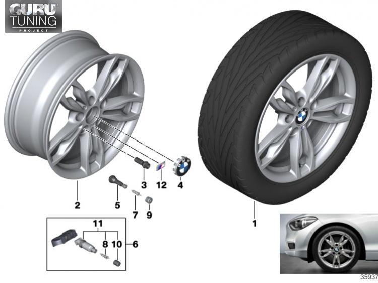 Диски BMW дизайн 436 для BMW 2-series F23