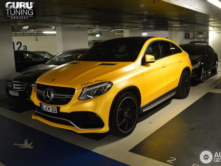 AMG 63 для Mercedes-Benz GLE-class C292