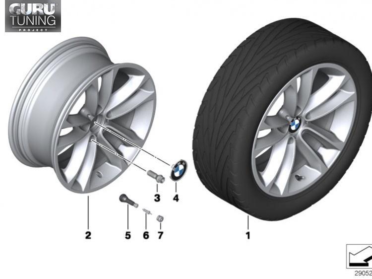 Диски BMW дизайн 421 для BMW X1 E84