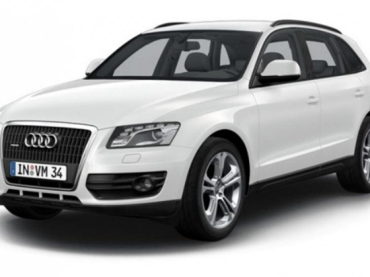 Диски и шины на Audi Q5