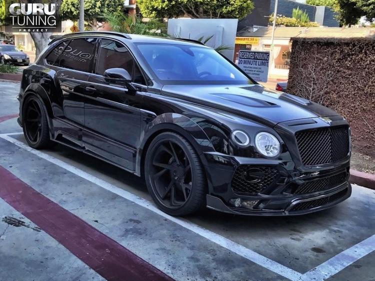 MANSORY для Bentley Bentayga