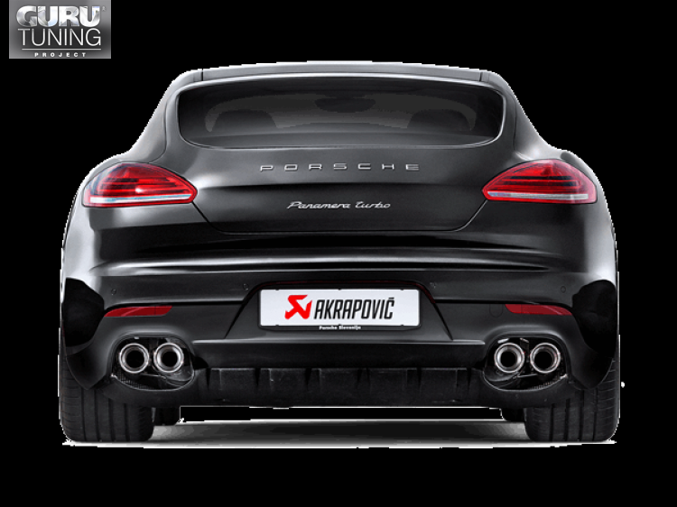Выхлопная система Akrapovic для Porsche Panamera Turbo S (970) 2015