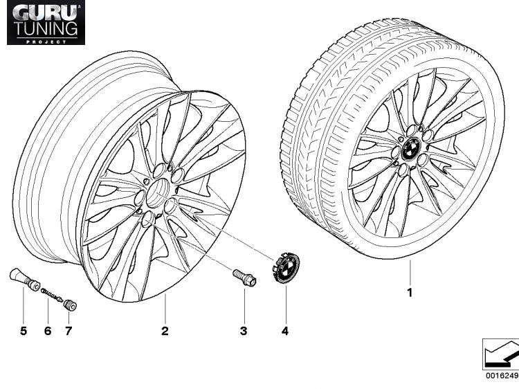 Диски BMW  дизайн 263 для BMW 1-series (E82/E88)