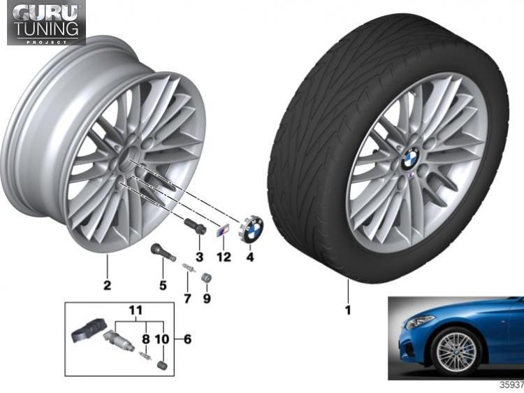 Диски BMW дизайн 460 для BMW 2-series F23