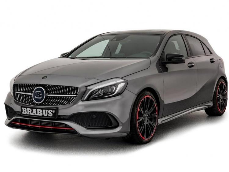 Еще более обновленные Mercedes A-Class от Brabus