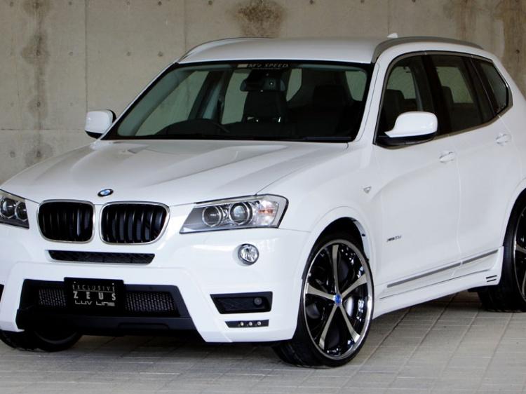 M'z SPEED EXCLUSIVE ZEUS для BMW X3 (F25)
