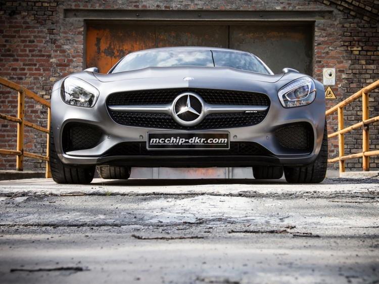 Модернизация Mercedes-AMG GT от McChip-DKR
