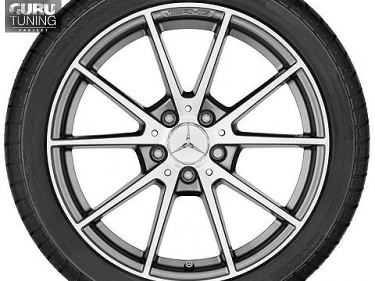 Диски AMG для Mercedes C class W205 Coupe с 10 спицами