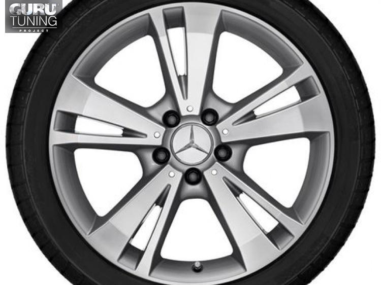 Диски для Mercedes E class W212 с 5 двойными спицами