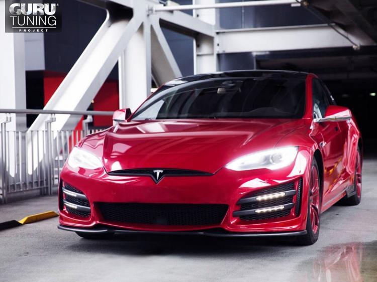Обвес Platon для Tesla Model S